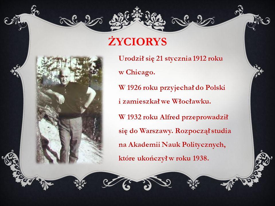 życiorys Urodził się 21 stycznia 1912 roku w Chicago.