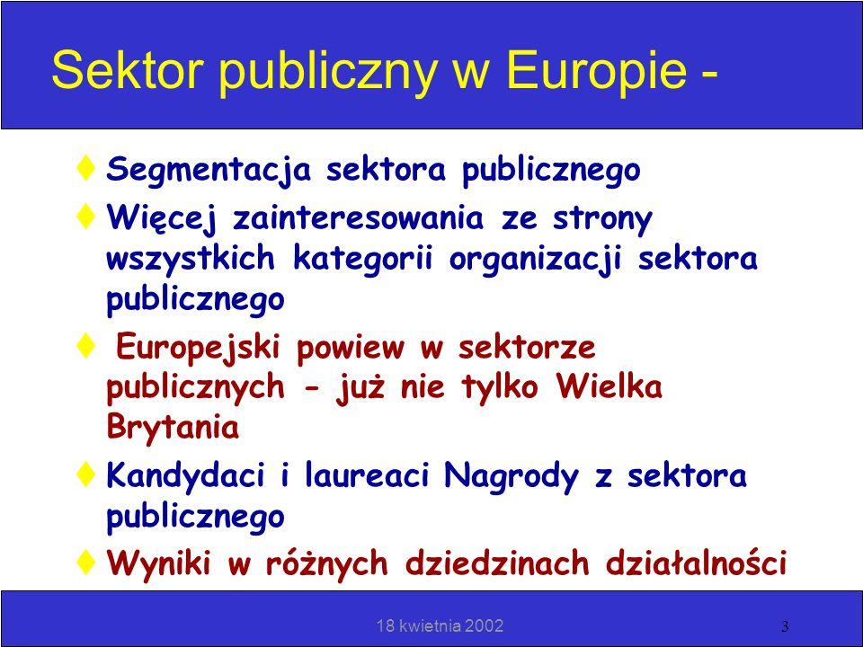 Sektor publiczny w Europie -