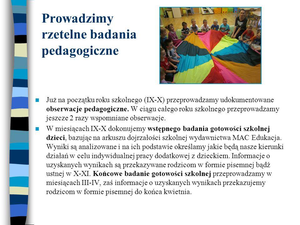Prowadzimy rzetelne badania pedagogiczne