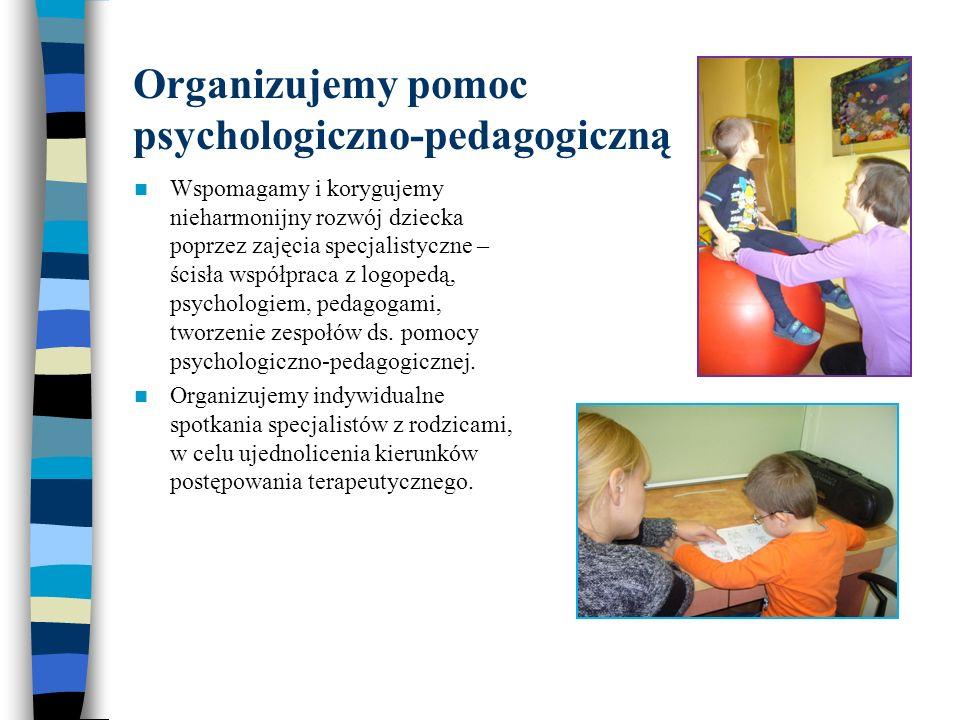 Organizujemy pomoc psychologiczno-pedagogiczną
