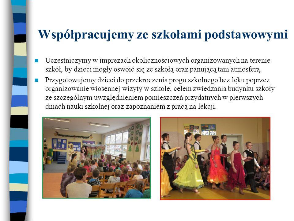 Współpracujemy ze szkołami podstawowymi