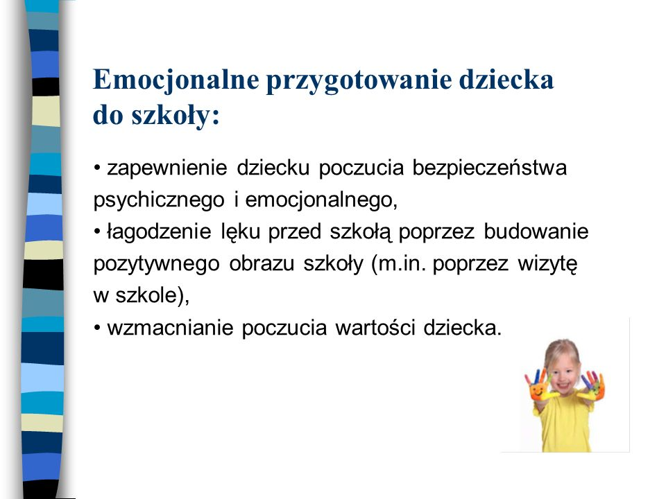 Emocjonalne przygotowanie dziecka do szkoły: