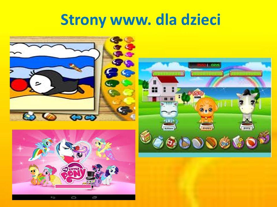 Strony www. dla dzieci