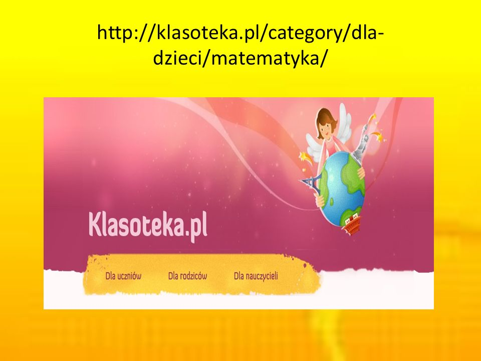 http://klasoteka.pl/category/dla-dzieci/matematyka/