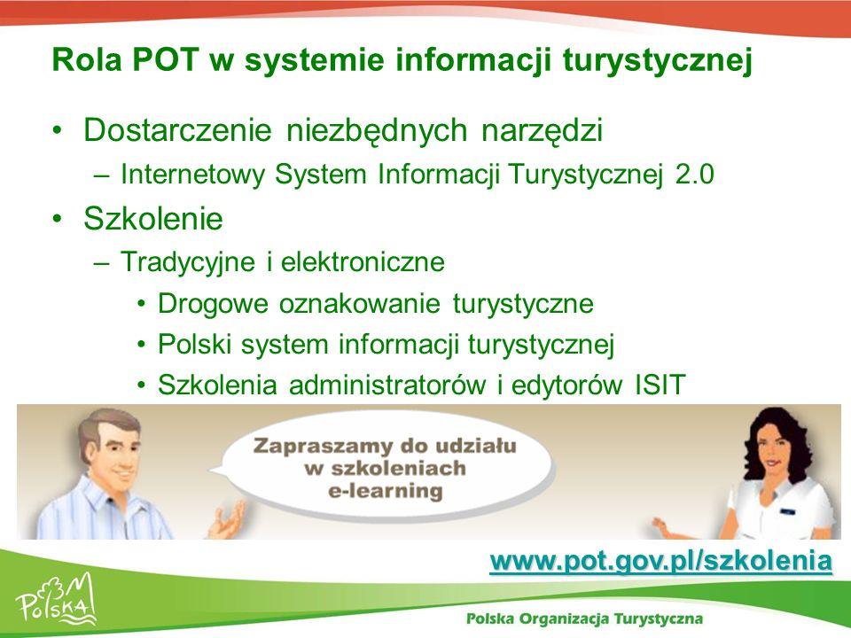 Rola POT w systemie informacji turystycznej