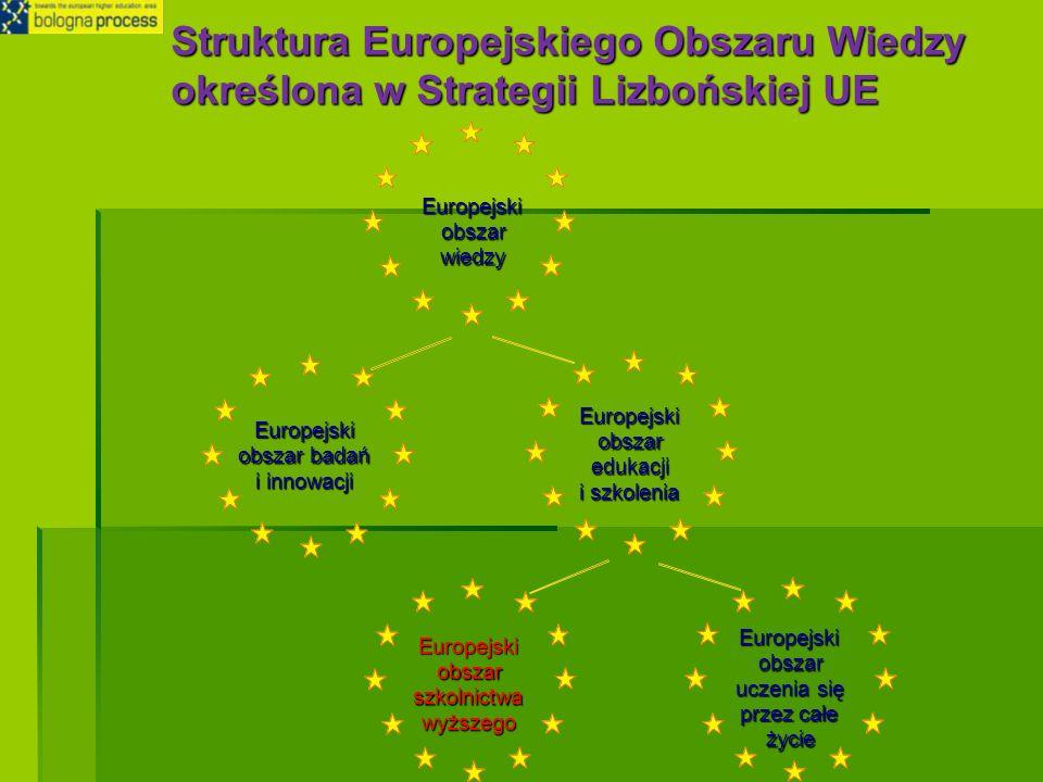 Struktura Europejskiego Obszaru Wiedzy określona w Strategii Lizbońskiej UE