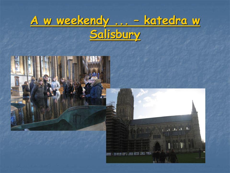 A w weekendy ... – katedra w Salisbury