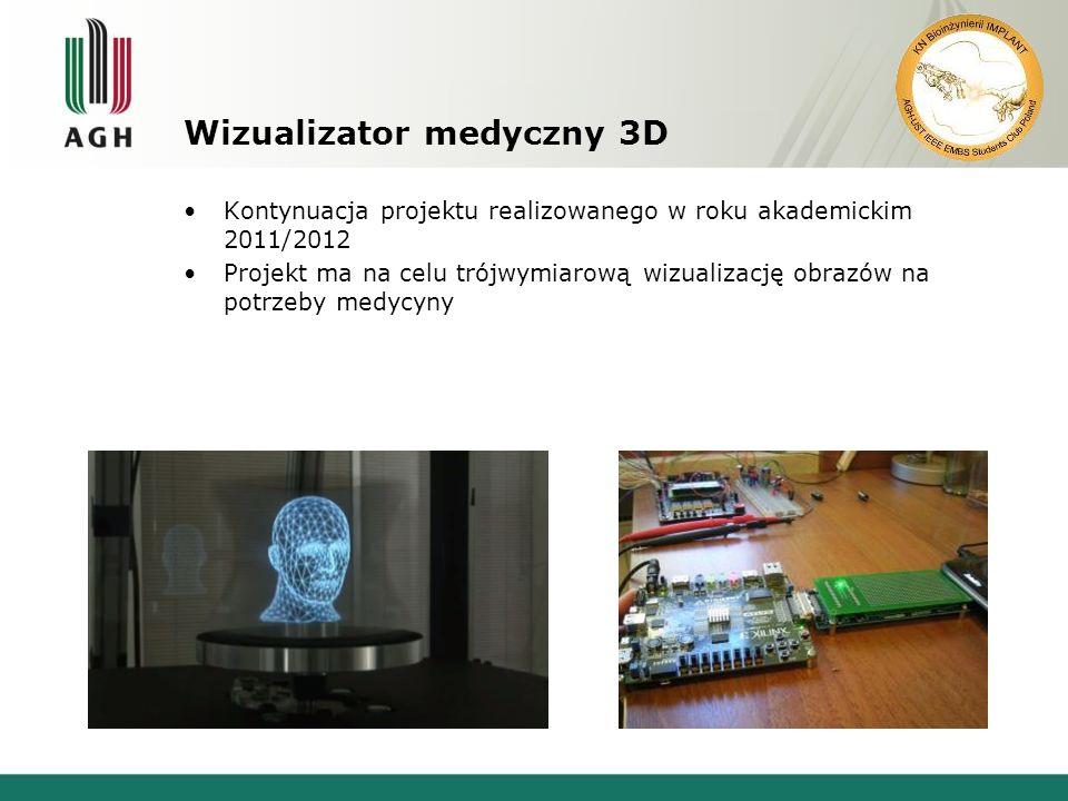 Wizualizator medyczny 3D