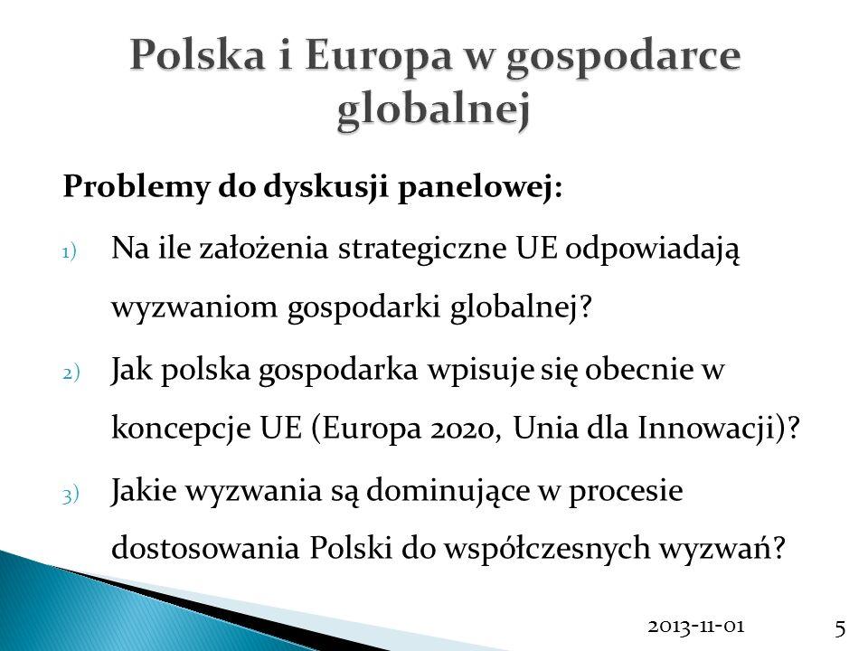 Polska i Europa w gospodarce globalnej
