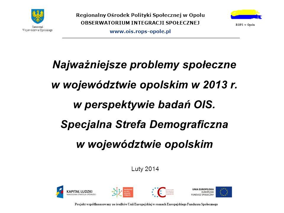 Regionalny Ośrodek Polityki Społecznej w Opolu