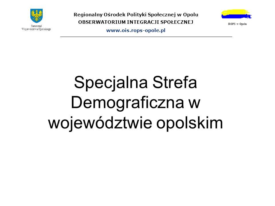 Specjalna Strefa Demograficzna w województwie opolskim