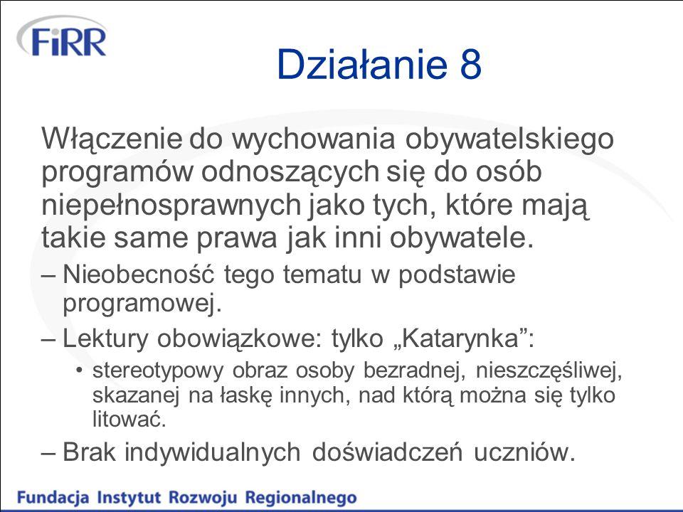 Działanie 8