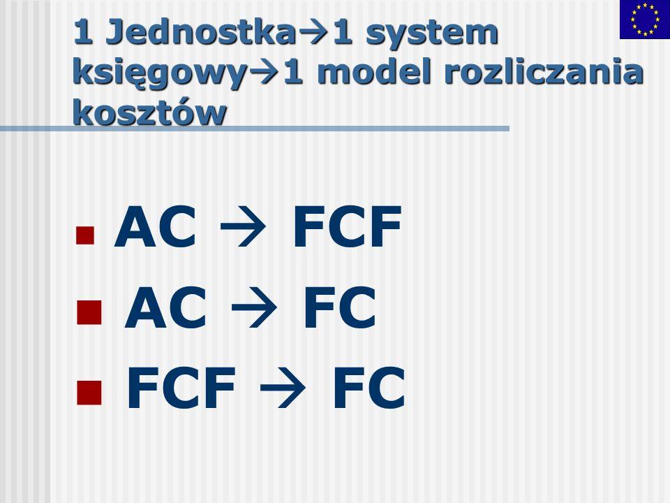 1 Jednostka1 system księgowy1 model rozliczania kosztów