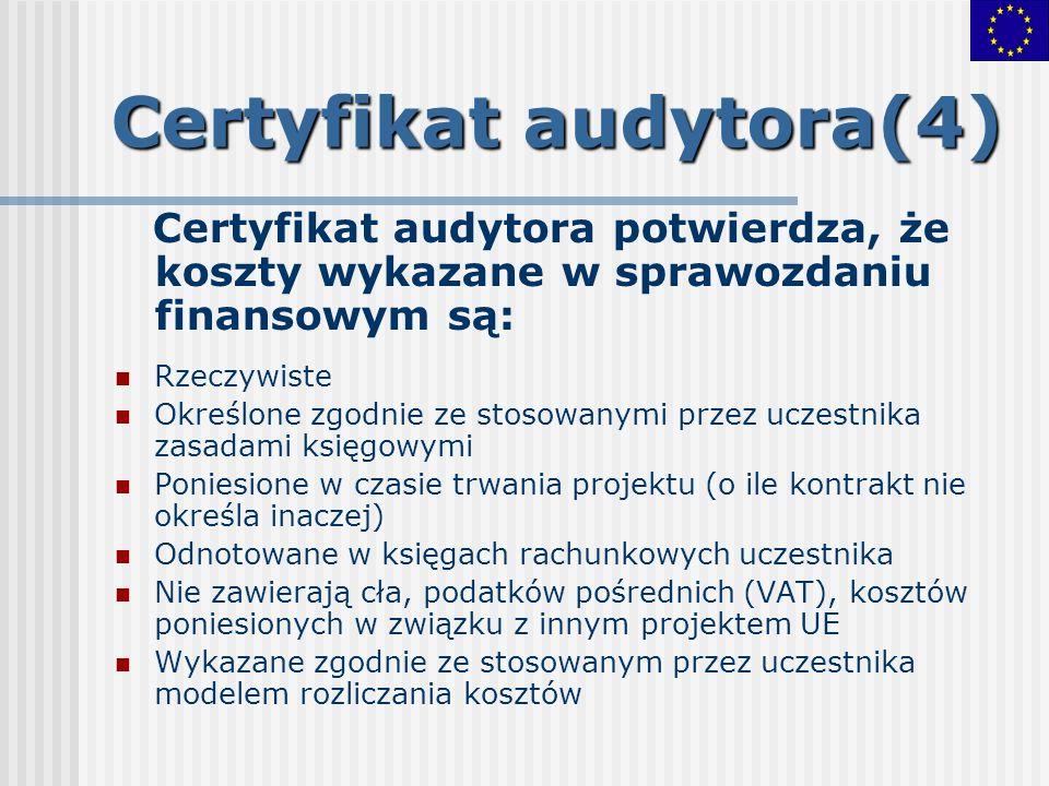 Certyfikat audytora(4)