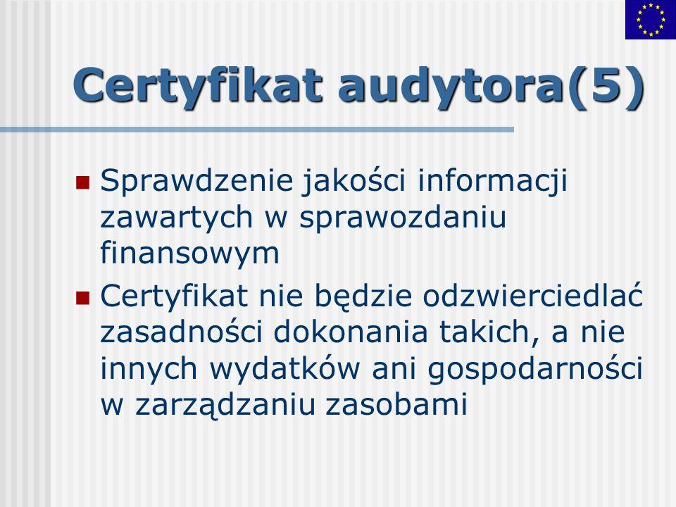 Certyfikat audytora(5)