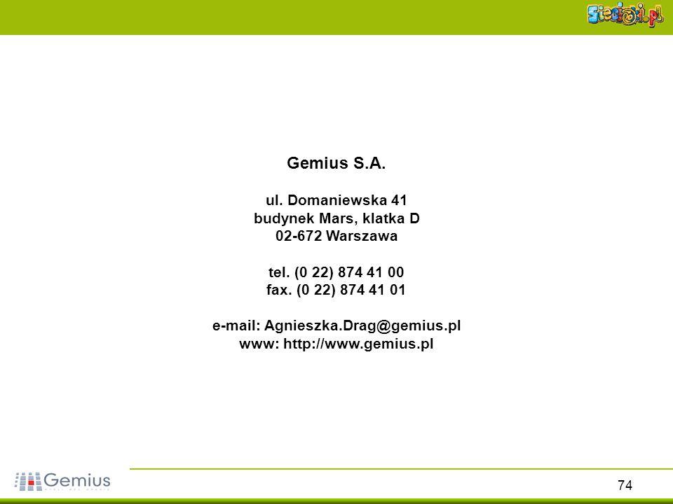 www: http://www.gemius.pl