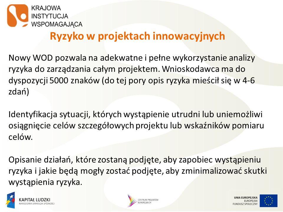 Ryzyko w projektach innowacyjnych