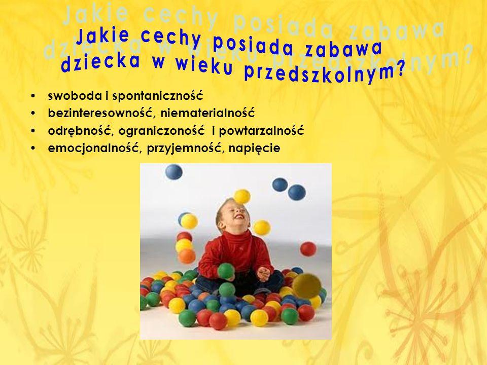 Jakie cechy posiada zabawa dziecka w wieku przedszkolnym