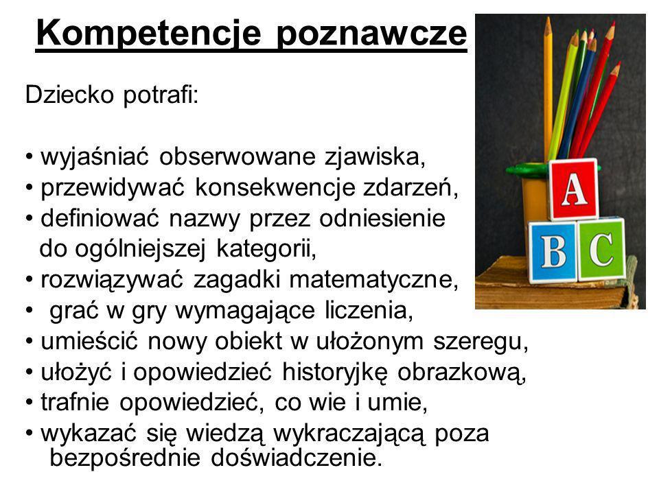 Kompetencje poznawcze