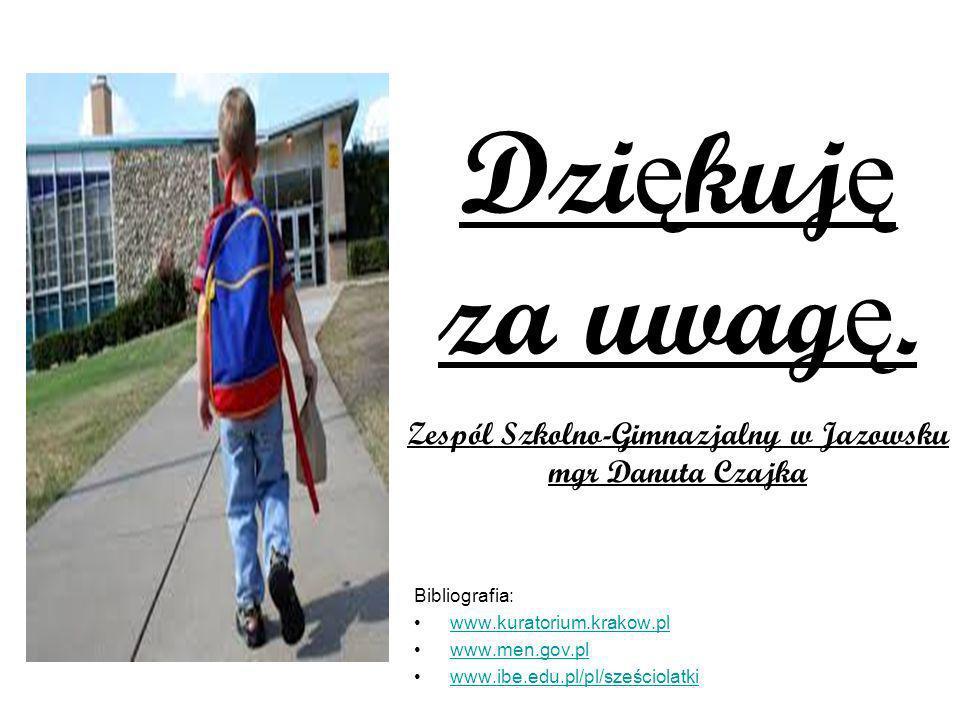 Zespól Szkolno-Gimnazjalny w Jazowsku
