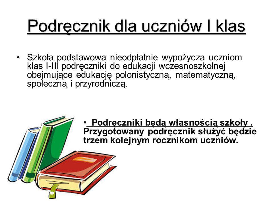 Podręcznik dla uczniów I klas