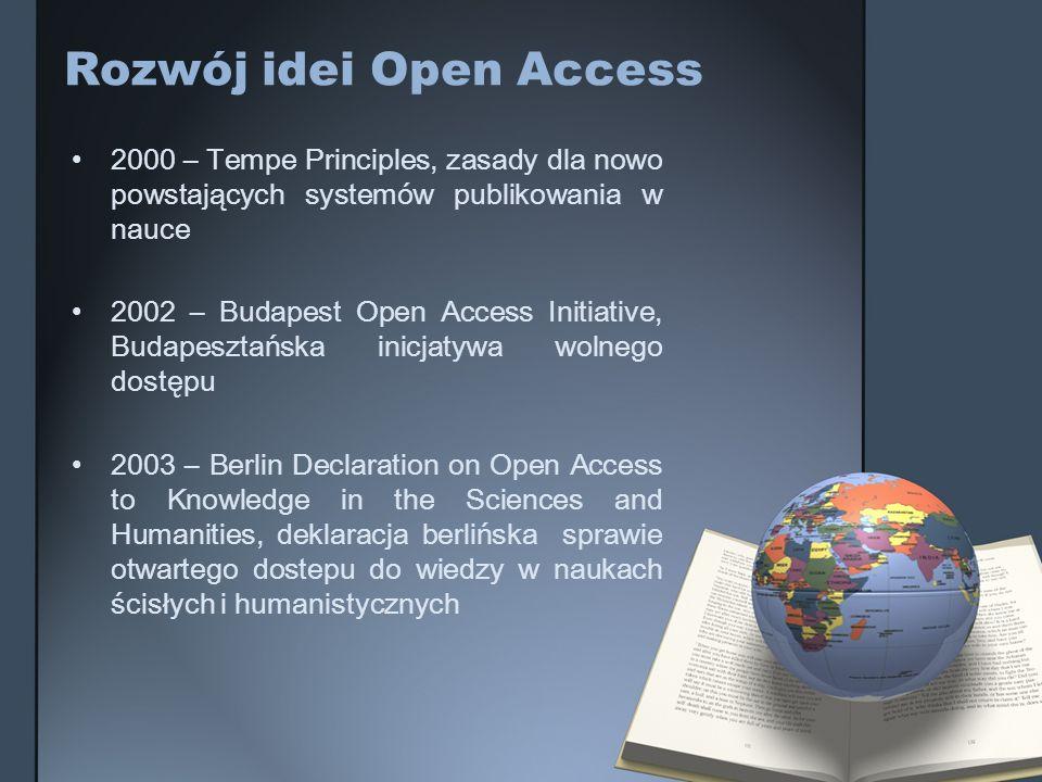 Rozwój idei Open Access