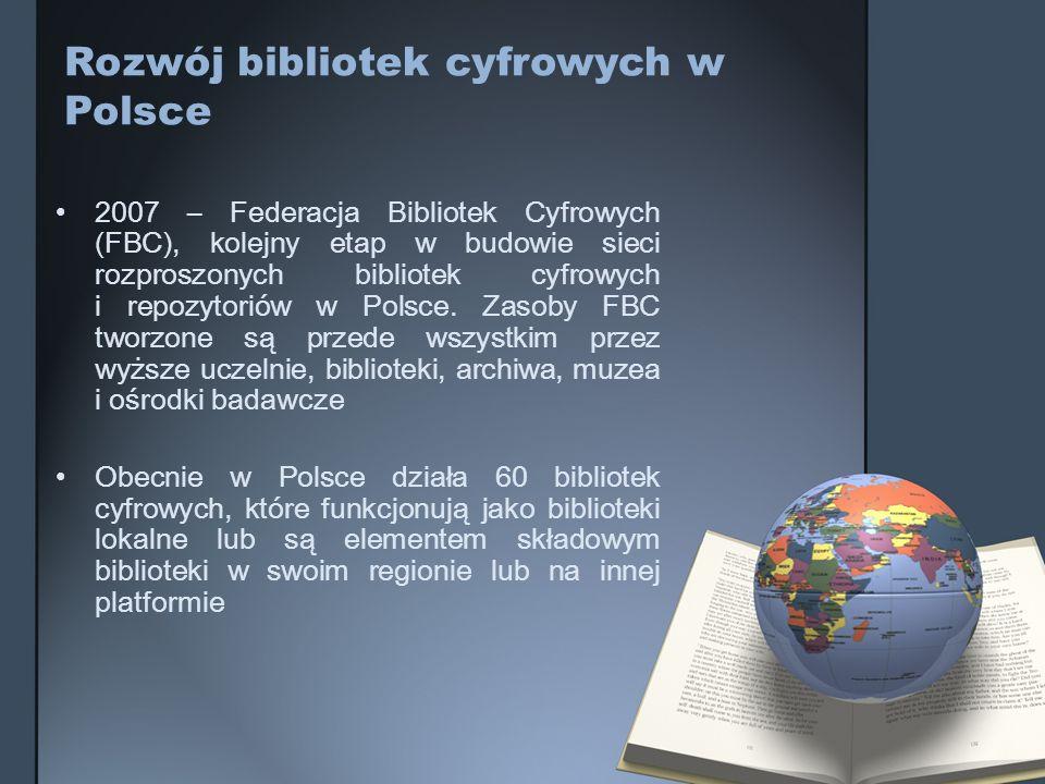 Rozwój bibliotek cyfrowych w Polsce