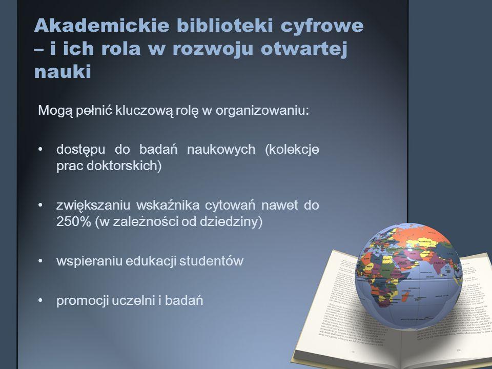 Akademickie biblioteki cyfrowe – i ich rola w rozwoju otwartej nauki