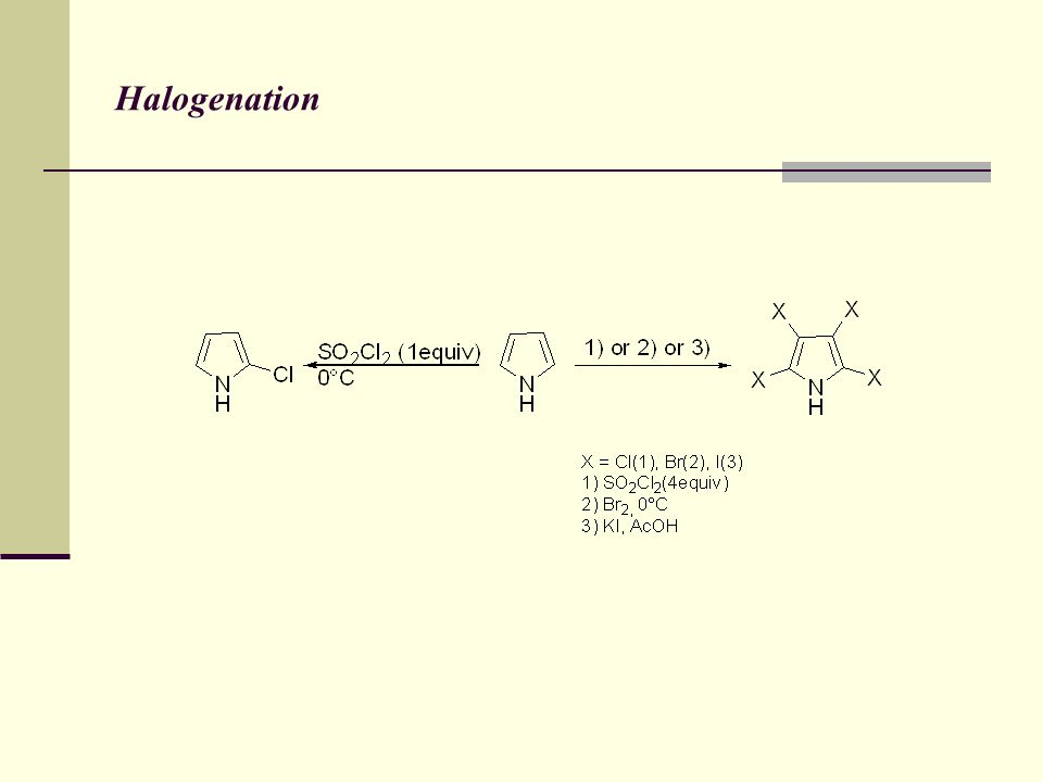 Halogenation