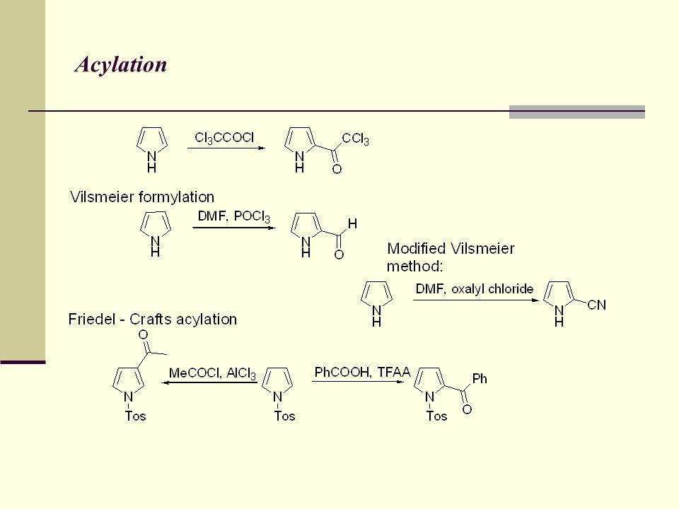 Acylation