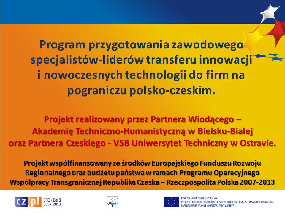 i nowoczesnych technologii do firm na pograniczu polsko-czeskim.