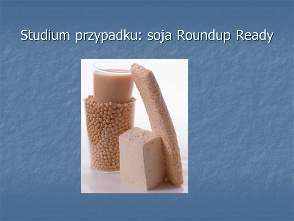 Studium przypadku: soja Roundup Ready