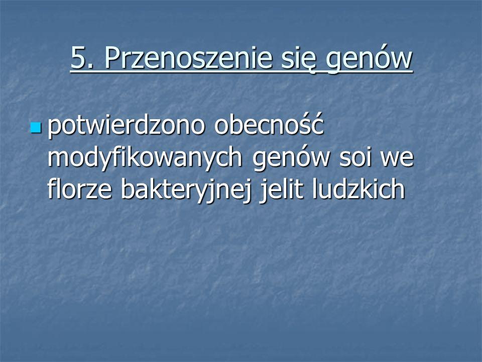 5. Przenoszenie się genów