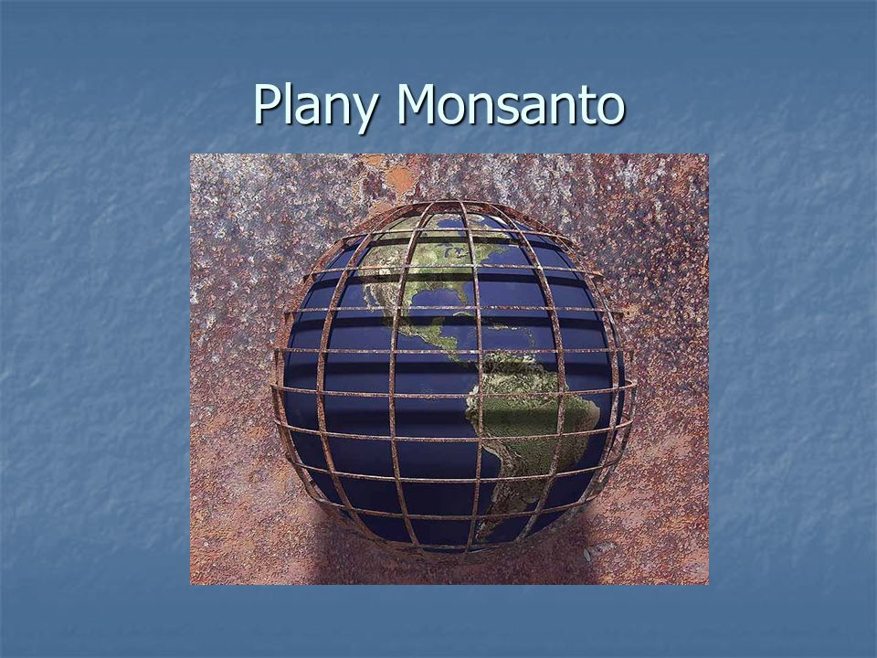 Plany Monsanto