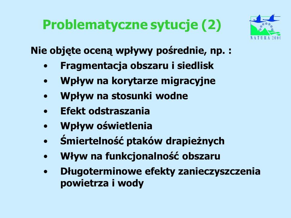 Problematyczne sytucje (2)