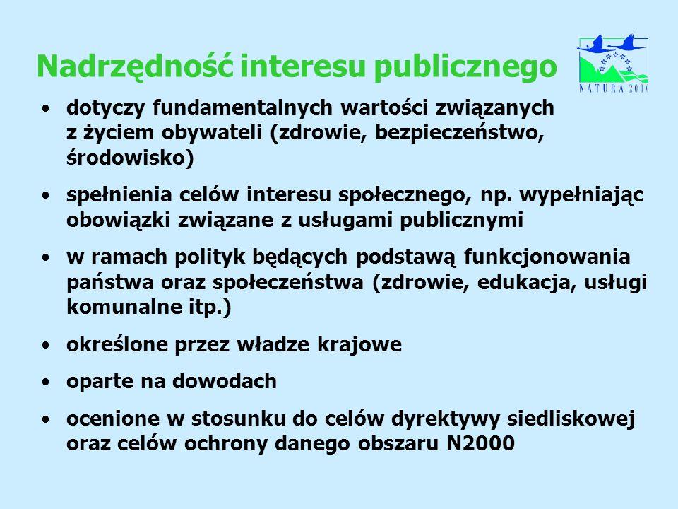 Nadrzędność interesu publicznego