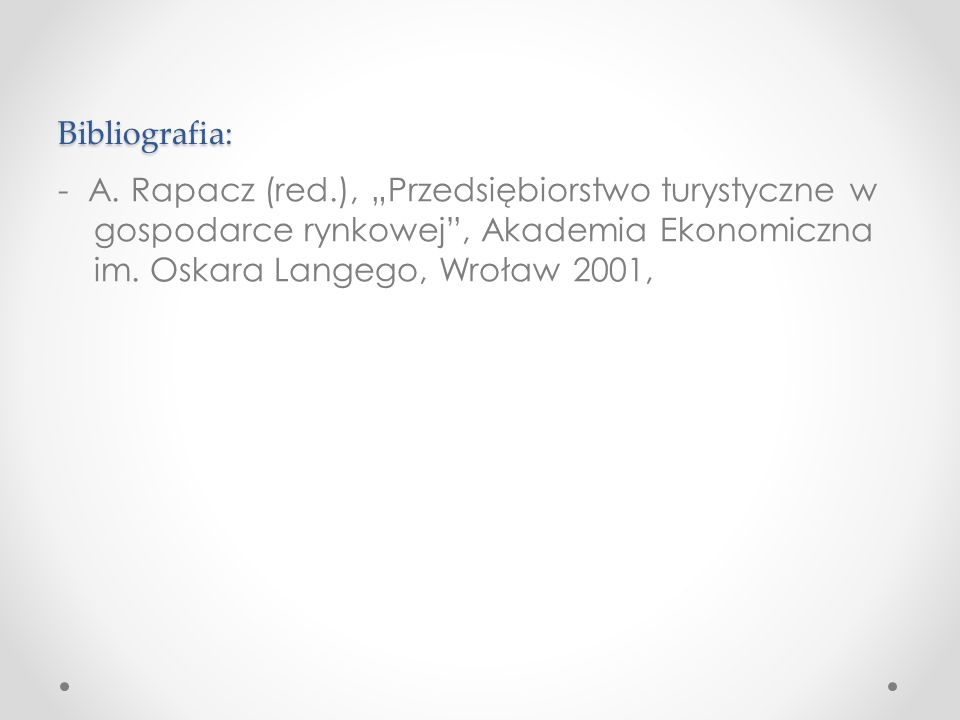 Bibliografia: - A.