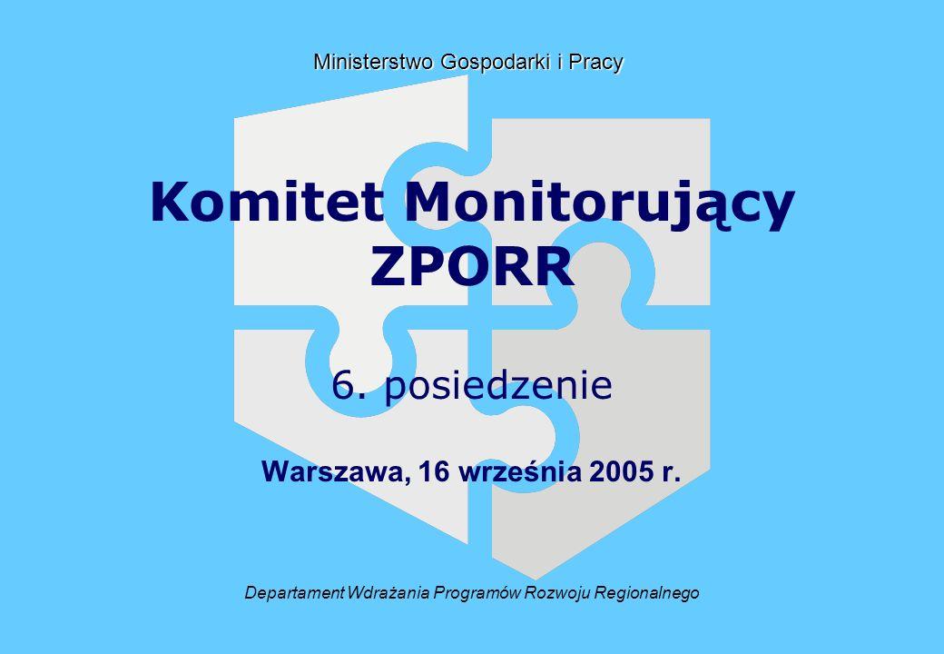 Departament Wdrażania Programów Rozwoju Regionalnego