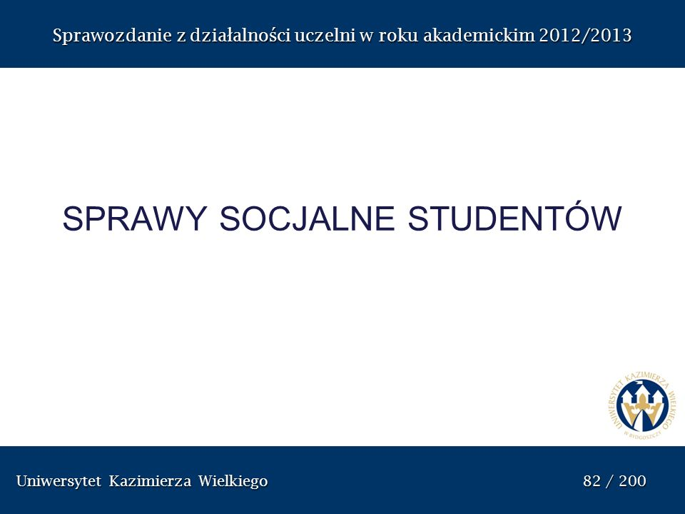 sprawy socjalne studentów
