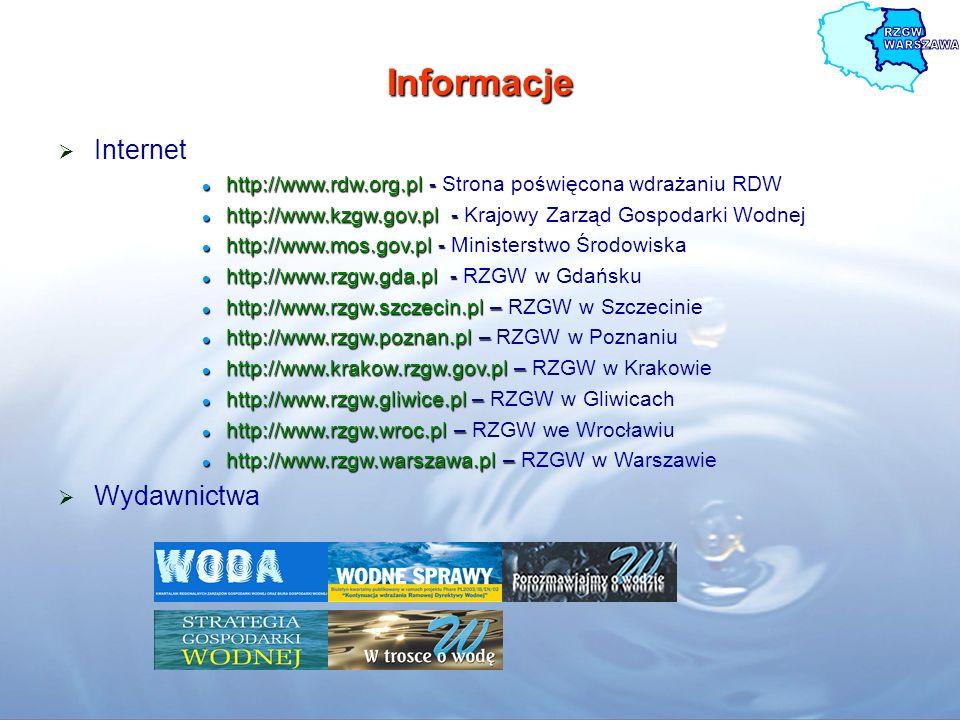 Informacje Internet Wydawnictwa