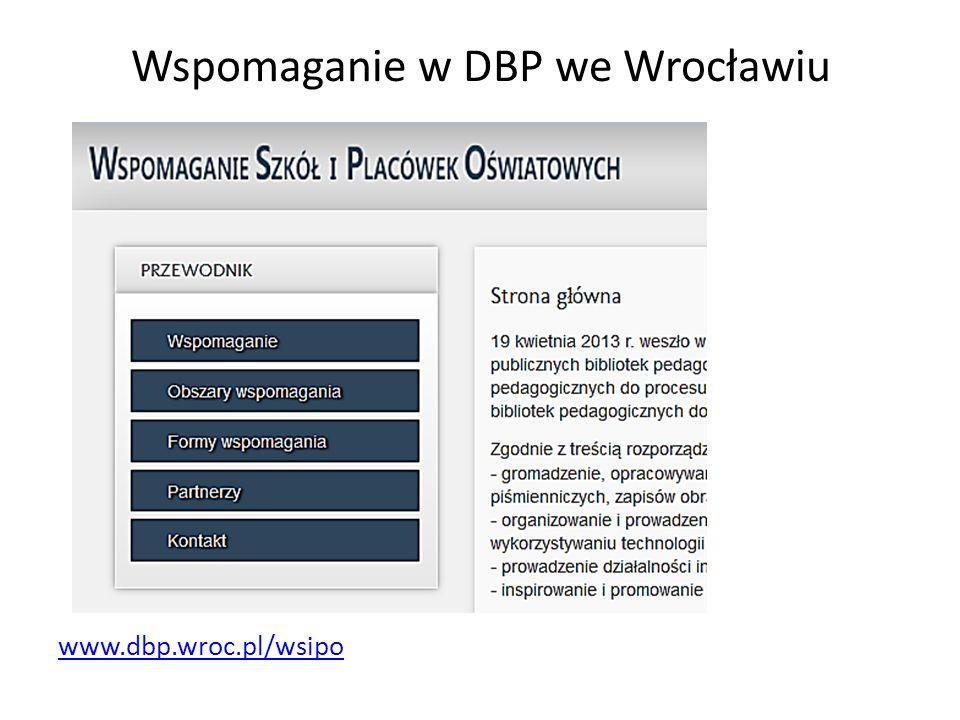 Wspomaganie w DBP we Wrocławiu