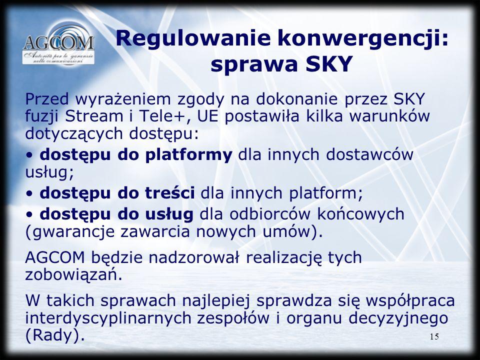 Regulowanie konwergencji: sprawa SKY