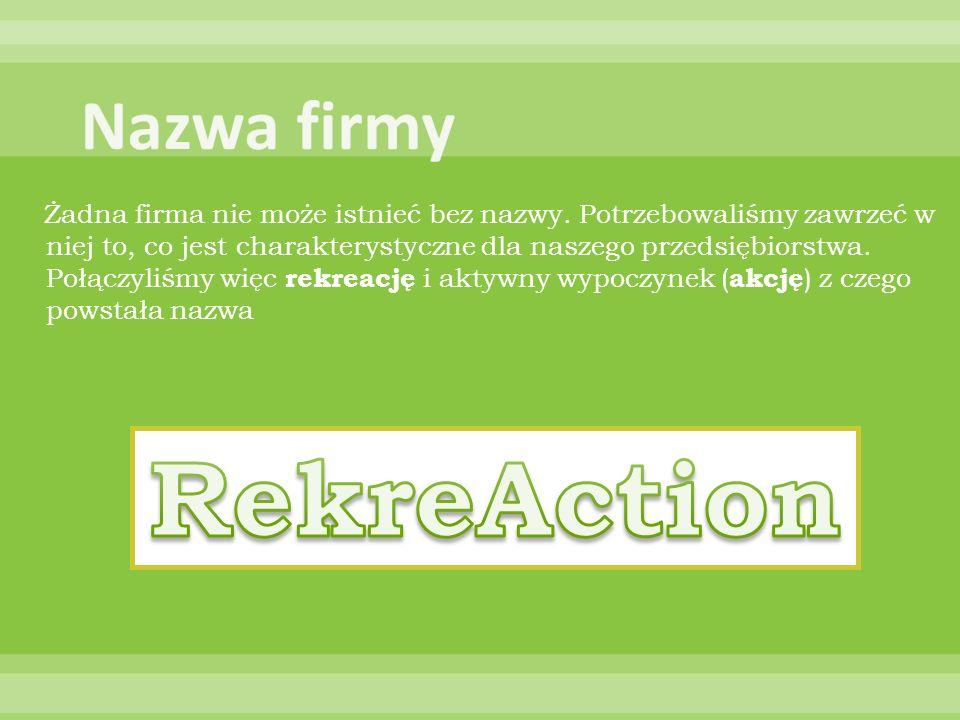 RekreAction Nazwa firmy