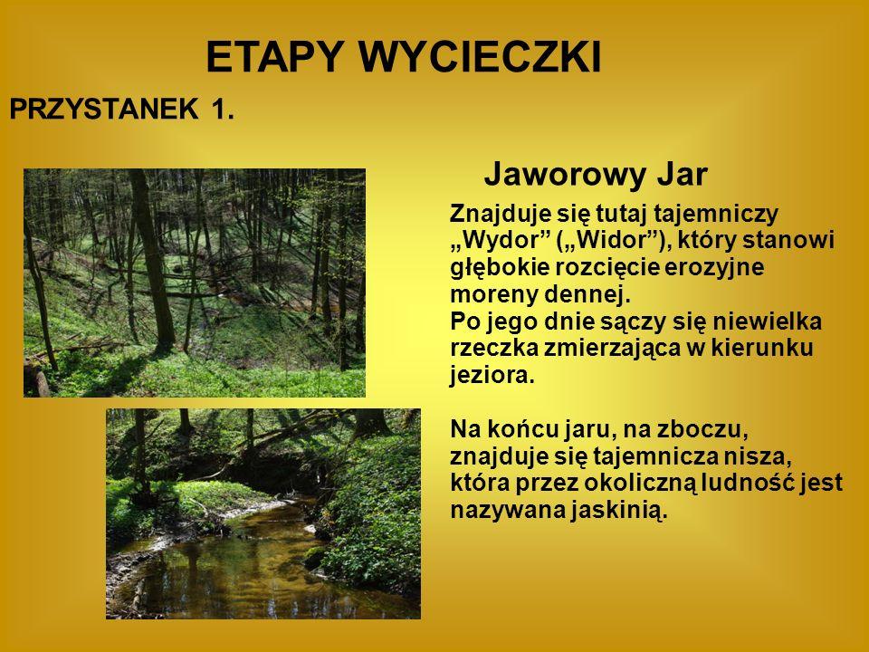 ETAPY WYCIECZKI Jaworowy Jar PRZYSTANEK 1.