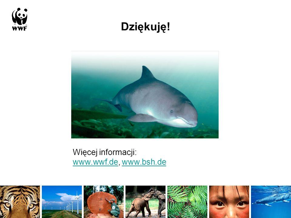 Dziękuję! Więcej informacji: www.wwf.de, www.bsh.de