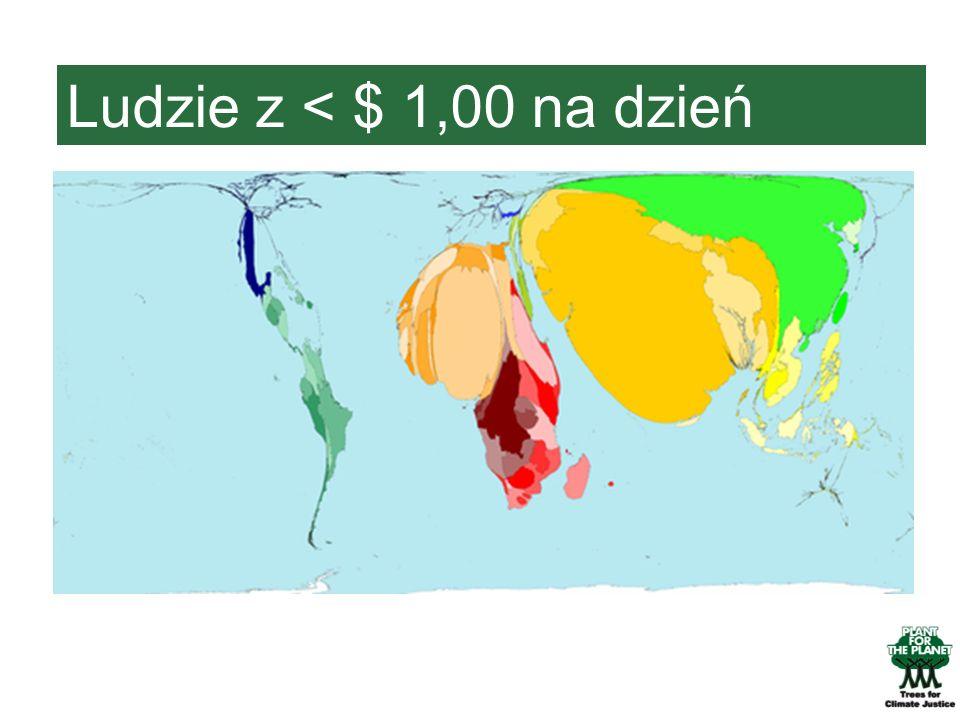 Ludzie z < $ 1,00 na dzień