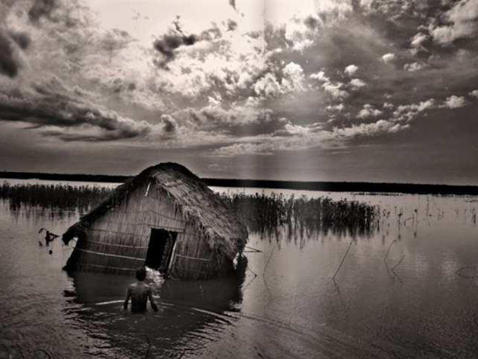 Skutki kryzysu klimatycznego można już dziś zaobserwować, na przykład tutaj, w postaci wylewu i powodzi w Bangladeszu...