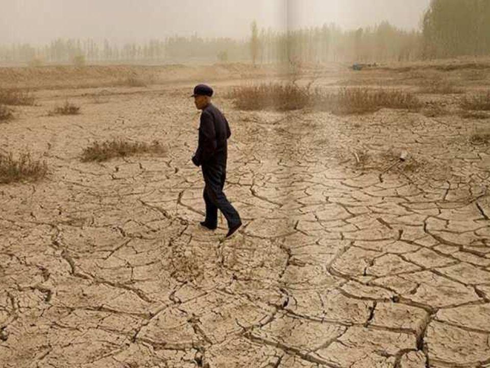 … oraz w tym samym czasie w innym miejscu na Ziemi w postaci ekstremalnych susz, do jakich dochodzi na przykład w Chinach …