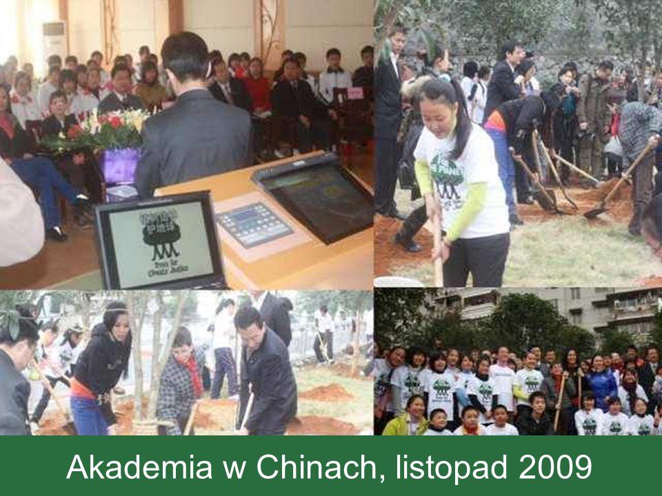 Akademia w Chinach, listopad 2009
