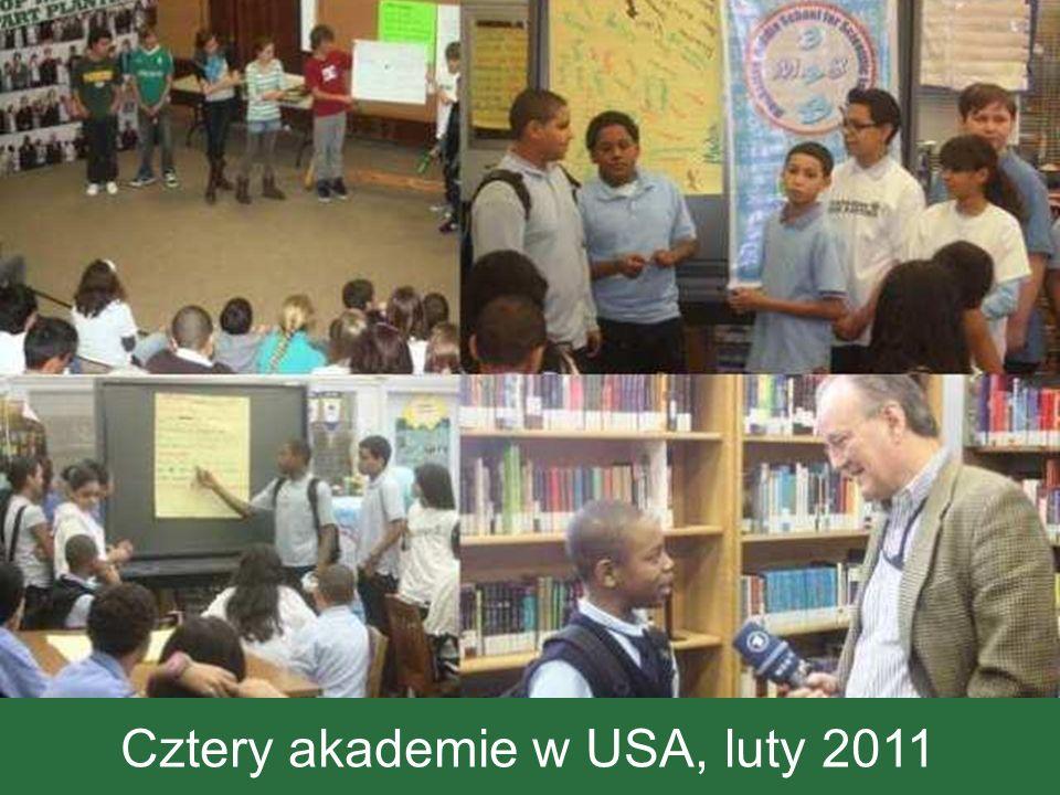 Cztery akademie w USA, luty 2011